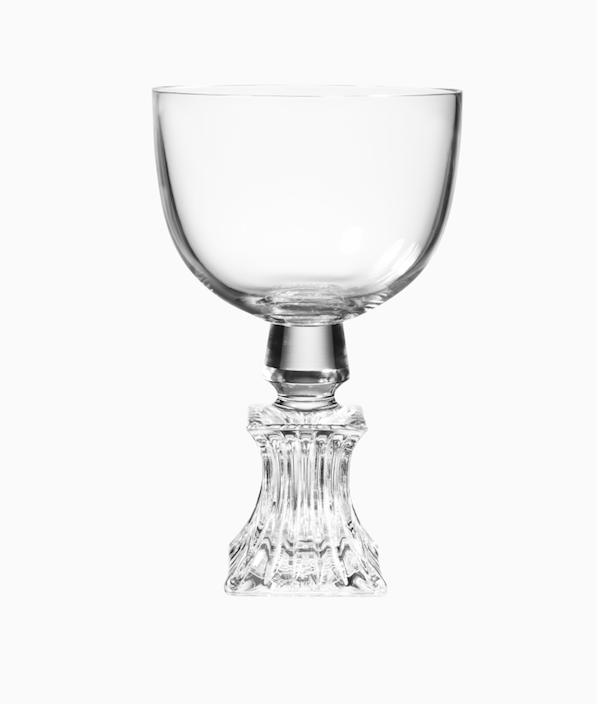 #LeeBroom | Half Cut Wine Glass Square