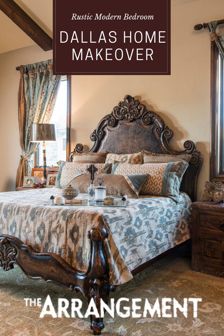 Dallas Home Makeover Rustic bedroom furniture sets
