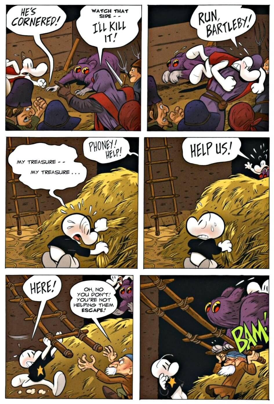 Page 77 Read Online Bone 9 Crown Of Horns Graphic Novel By Jeff Smith Graphic Novel Bone Books Bone Comic