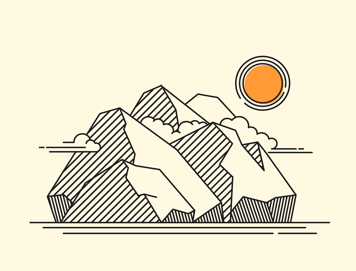 Graphic Elements Can Also Be Translated Into Lines. Constructing Those Lines  Carefully Will Create A Strong And Solid Image. Using Not Too Much Makes It  ...