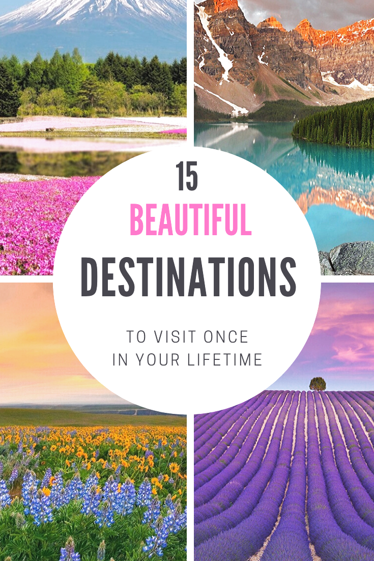 Here are the most beautiful travel destinations to add to your bucket list.    #travel #wanderlust #destinations #inspiration. #beautifuldestinations #fairytaledestinations #mustvisitplaces #besttraveldestinations #fairytalegetaways #beautifulplaces