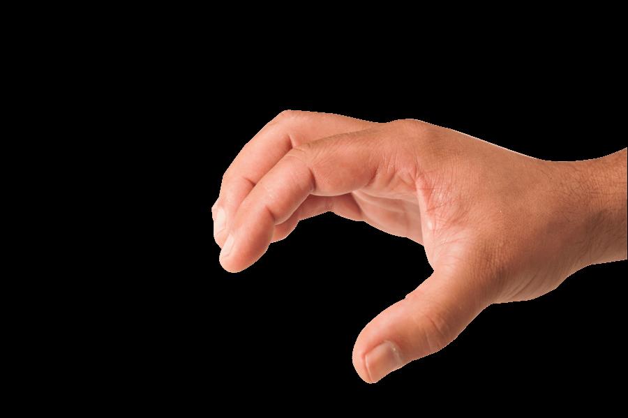 Grabbing Hand Transparent Png Stickpng Hand Silhouette Grabbing Hands Hands