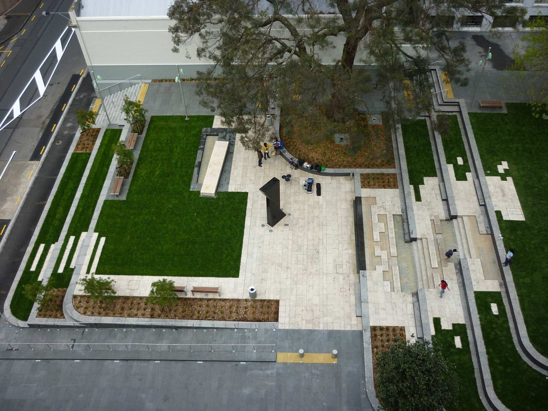 St Patricks Square by Boffa Miskell Landscape Architecture Works