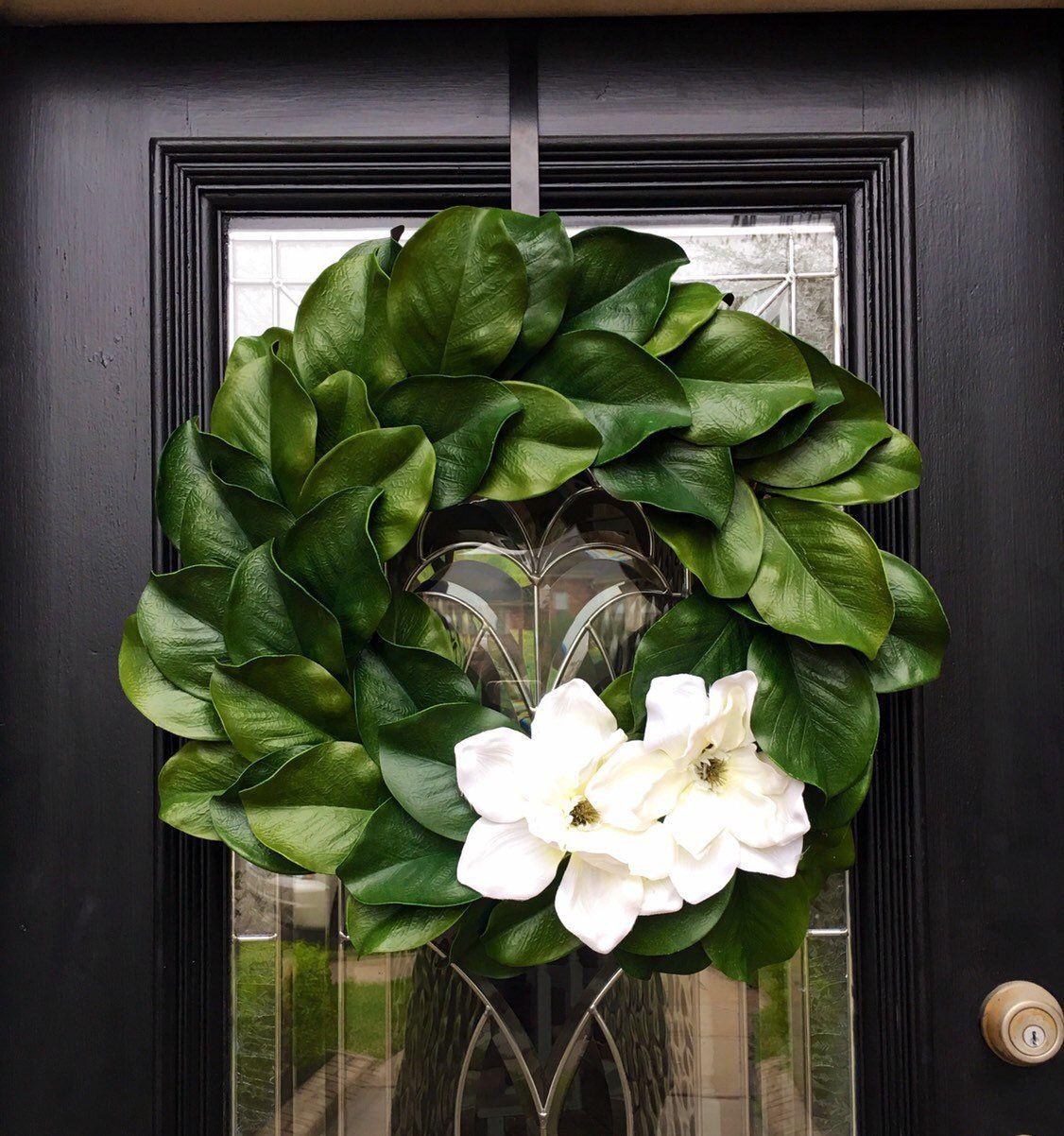 Photo of Magnolia Wreath 22″