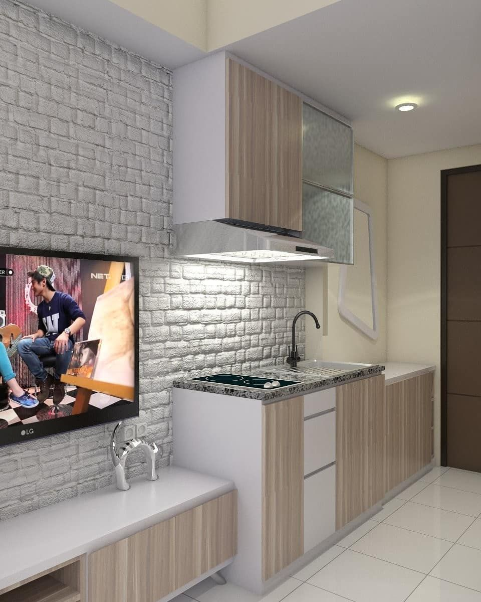 Desain Interior Apartemen Type Studio Desain Minimalis