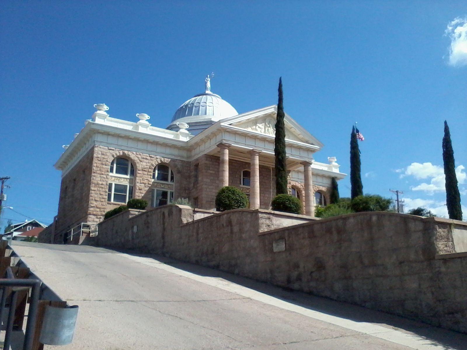 Historic santa cruz county courthouse nogales az k1k mi casa es tu casa arizona - Casa santa cruz ...