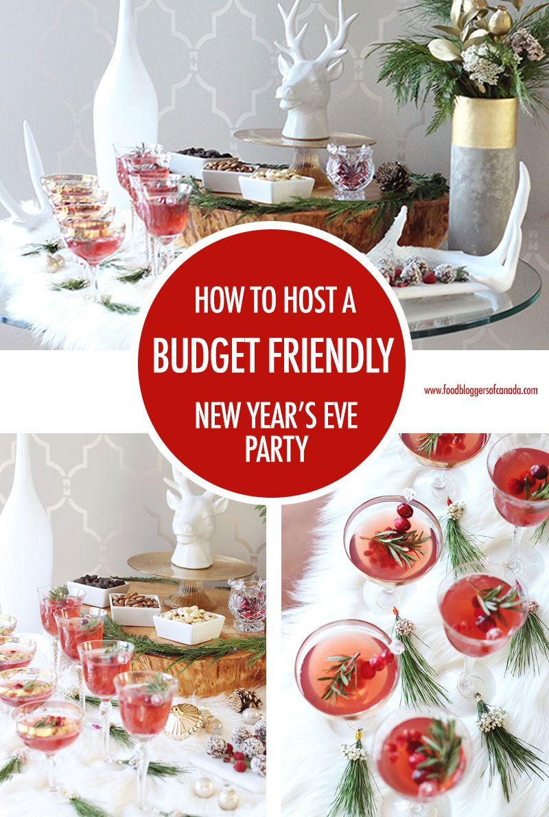 How To Plan A New Year's Eve Party on a Budget | Party ...