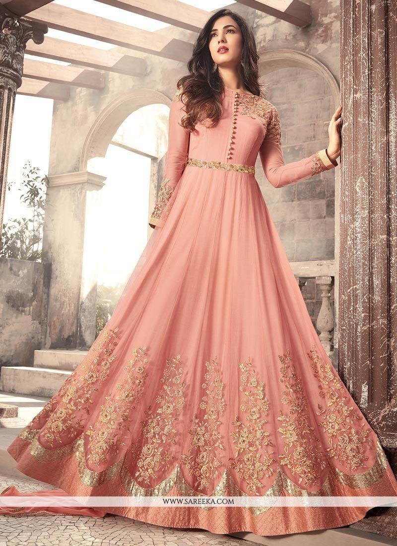 b6fde8c56c Buy salwar suits, salwar kameez and designer salwar suits online. Order  this sensational embroidered and resham work floor length anarkali suit for  wedding.