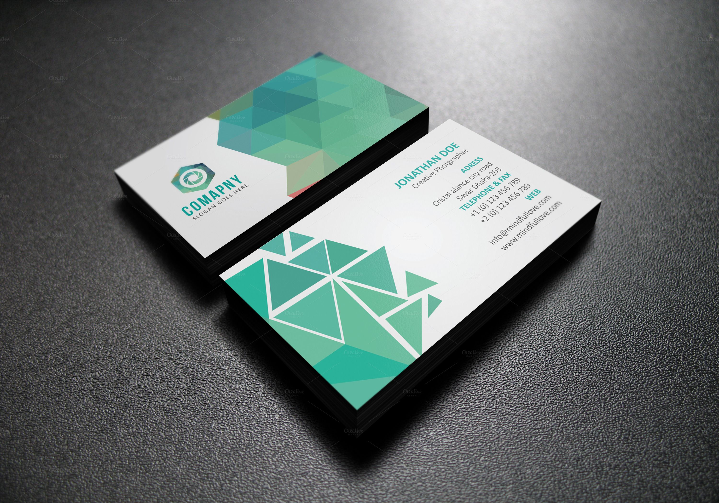 Abstract Corporate Business Card | Pinterest | Corporate business ...