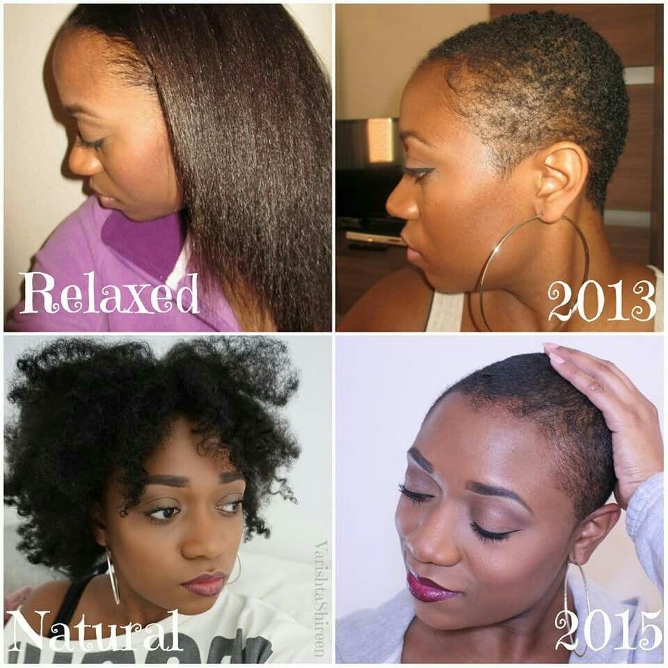 When You Big Chop Twice Varishtashireen Naturalhair Bigchop Naturalhairjourney Natural Hair Styles Pixie Hairstyles Hair Makeup
