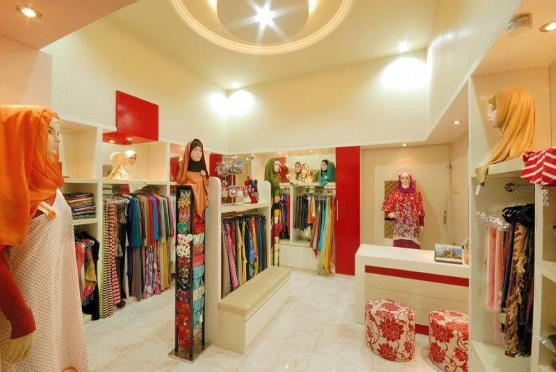 interior toko hijab - Google Search | Desain, Desain ...