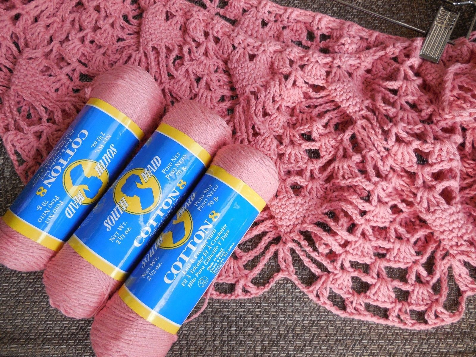 Details About South Maid Cotton 8 Crochet Threadyarn 100 Cotton