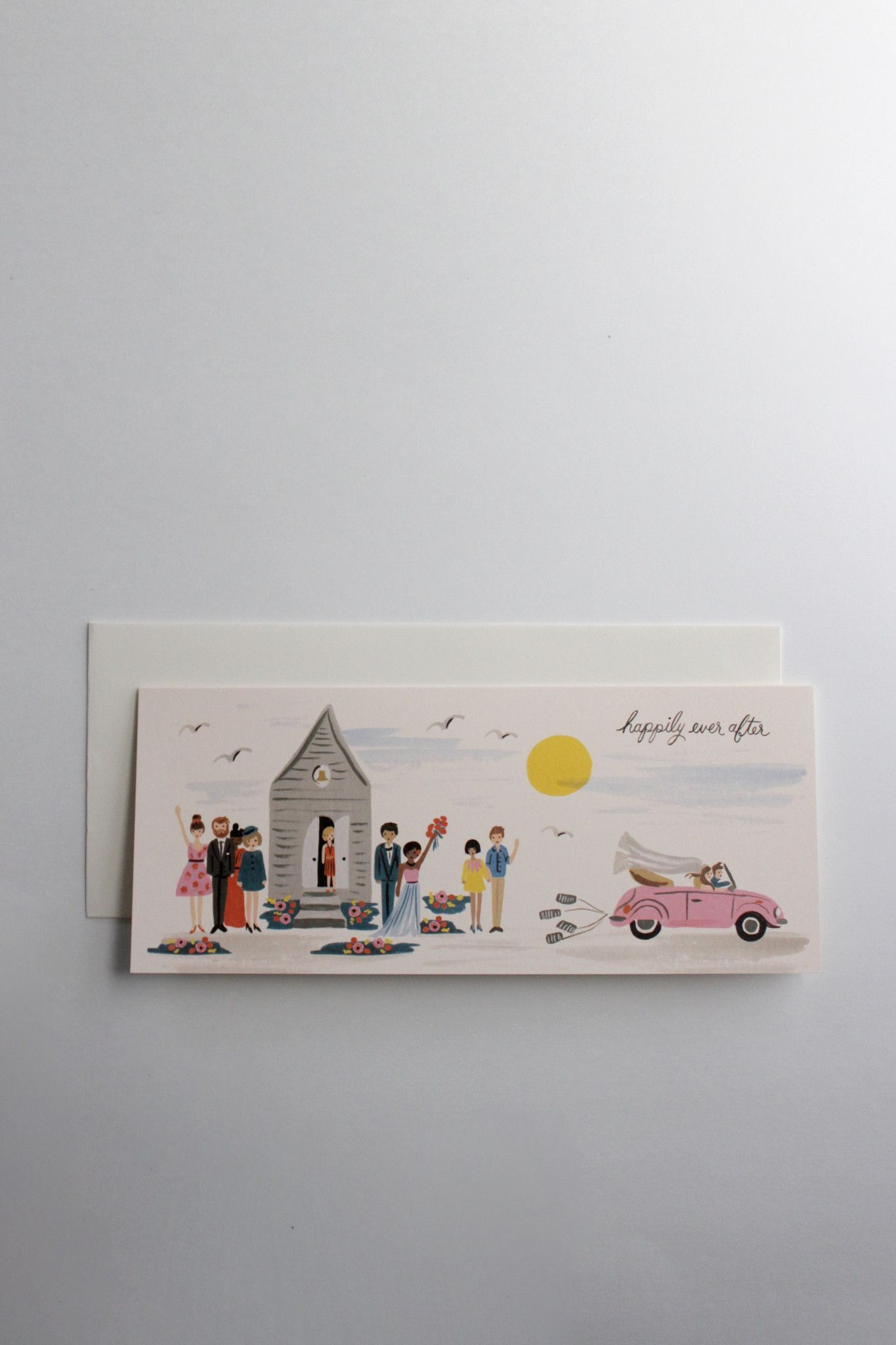 Wedding Send Off Greeting Card Cards Pinterest Cards