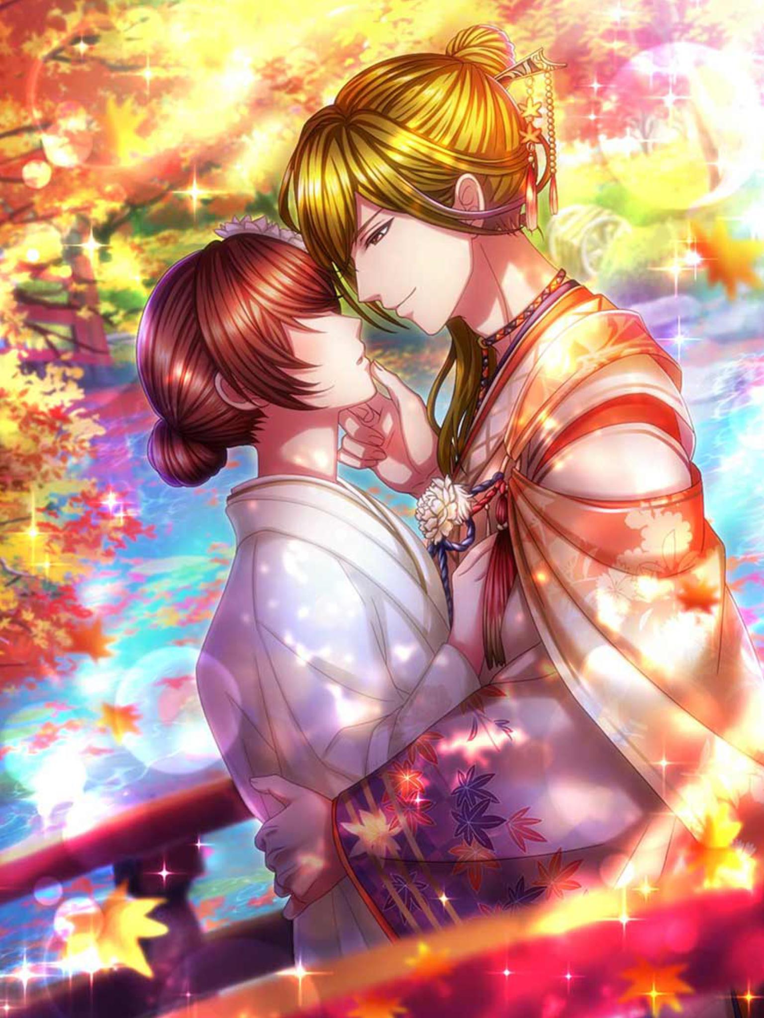 ปักพินในบอร์ด Anime COUPLES