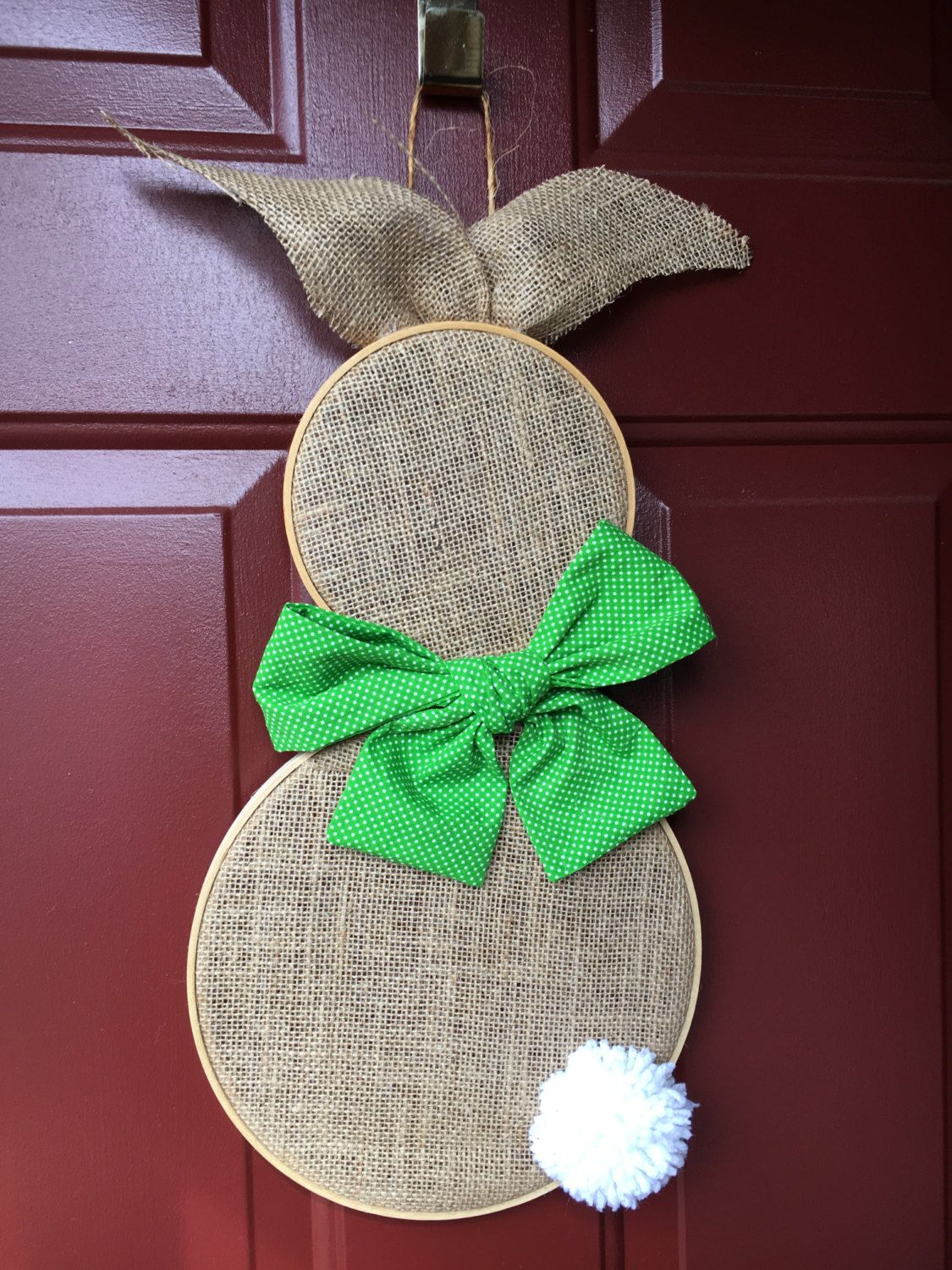 Photo of Items similar to Easter Bunny Door Decoration on Etsy