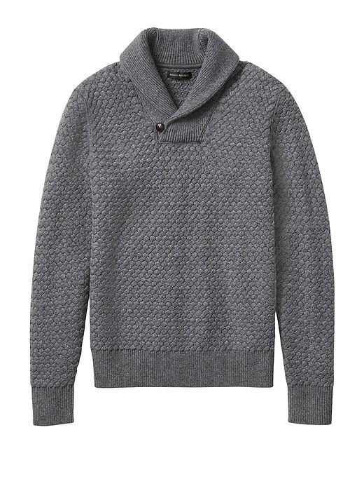 sweater republic banana merino shawl wool basketweave gray bananarepublic gap technology cashmere extra fine basket sweaters