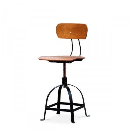 Chaise architecte industrielle JB Pennel Bar