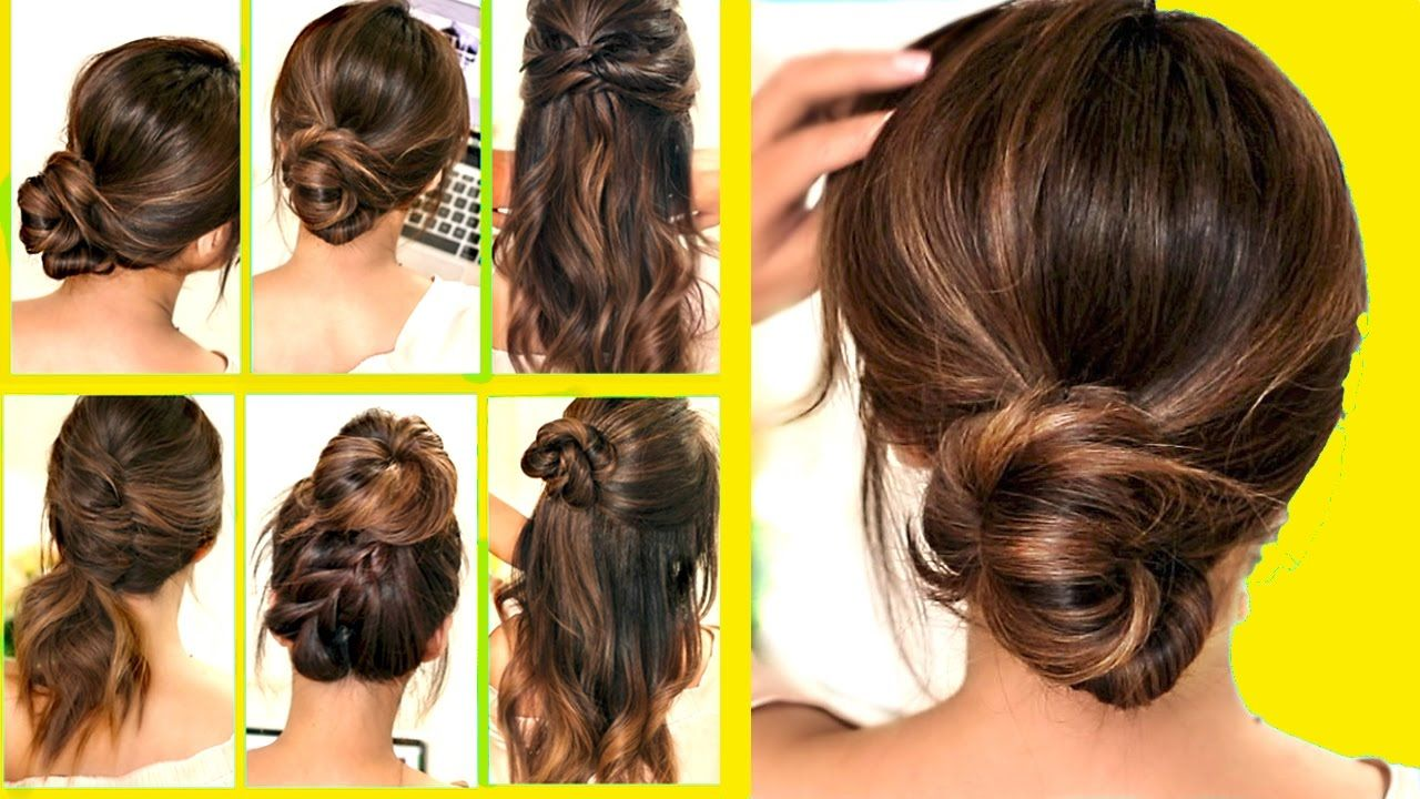top 10 ☆ lazy - running late hairstyles & hacks for frizzy hair