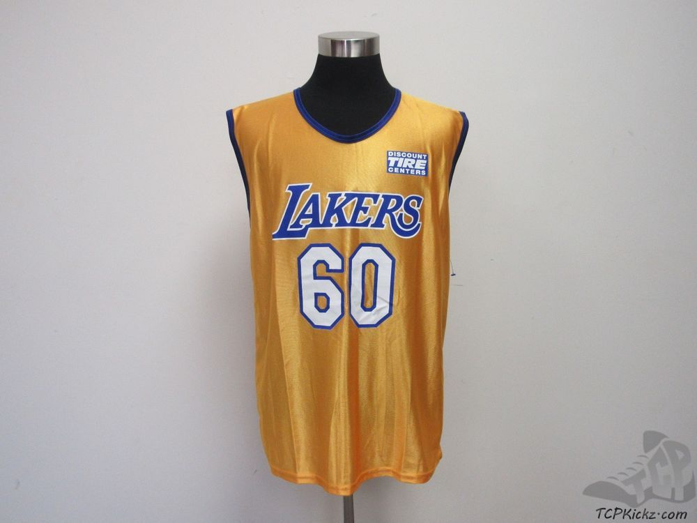 big sale a4624 dcfa8 SGA NBA Los Angeles Lakers 60th Anniversary Basketball Jersey  60 sz L  Large  SGA  LosAngelesLakers  tcpkickz