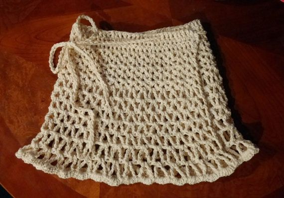 Beach Skirt PATTERN Crochet Cover up Crochet Skirt The | örgü ...