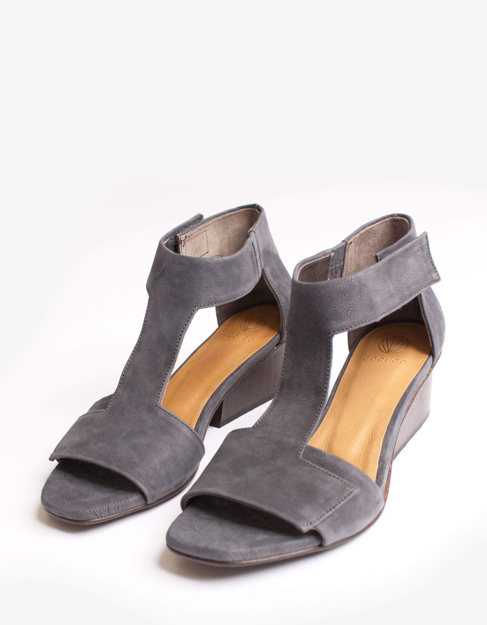 Coclico Suede T-Strap Sandals buy cheap Inexpensive outlet buy low cost online cheap sale clearance obtRtUTiY