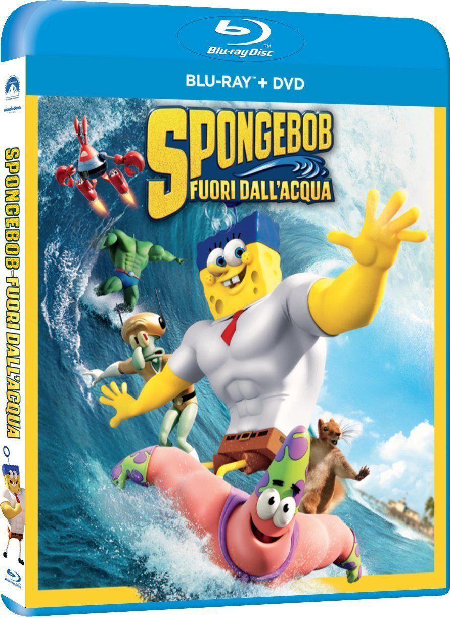 SpongeBob Fuori dall'Acqua (BluRay) dall, Fuori,