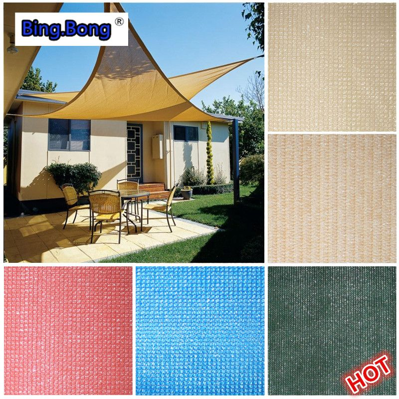 Custom sun shade sail HDPE mesh outdoor UV waterproof triangles square awning 1*1m pool & Custom sun shade sail HDPE mesh outdoor UV waterproof triangles ...
