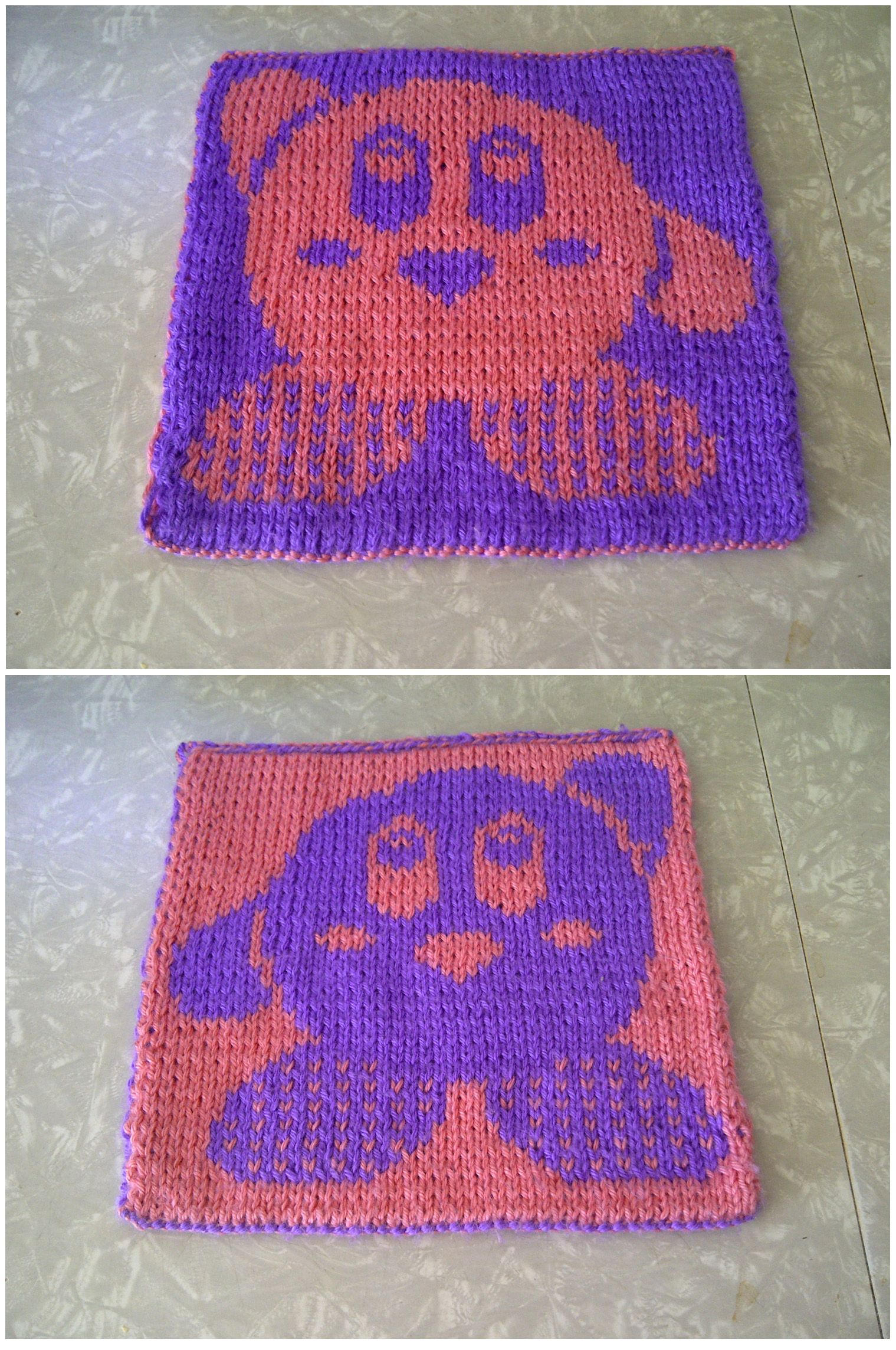 2016 GAL Kirby square — I started the 2016 lattesandllamas Geek-A-Long blanket. The theme this year is video games. http://lattesandllamas.com/geek-a-week-faq/geek-a-long-squares/