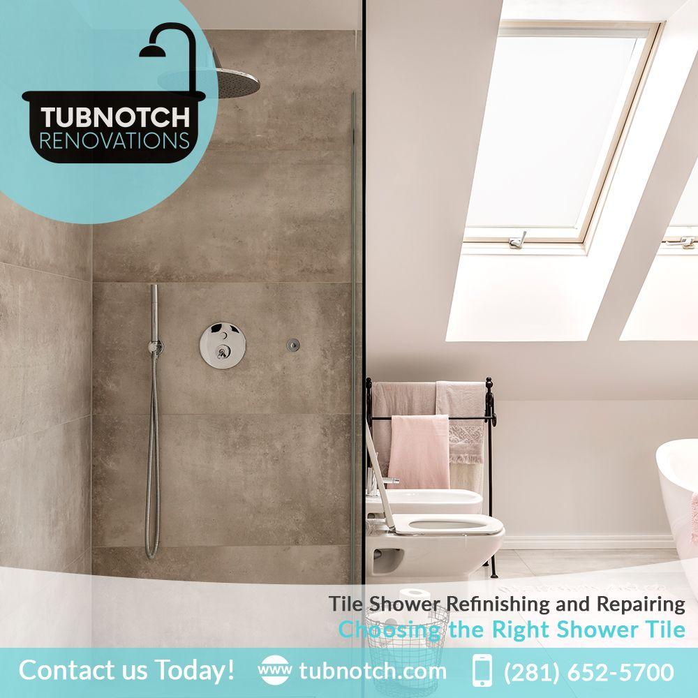 Tile Shower Refinishing And Repairing Choosing The Right Https Goo
