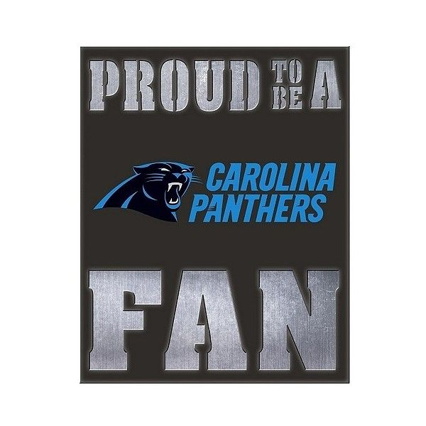 Carolina Panthers Team Sports America Metal Led Wall Décor ($46 ...
