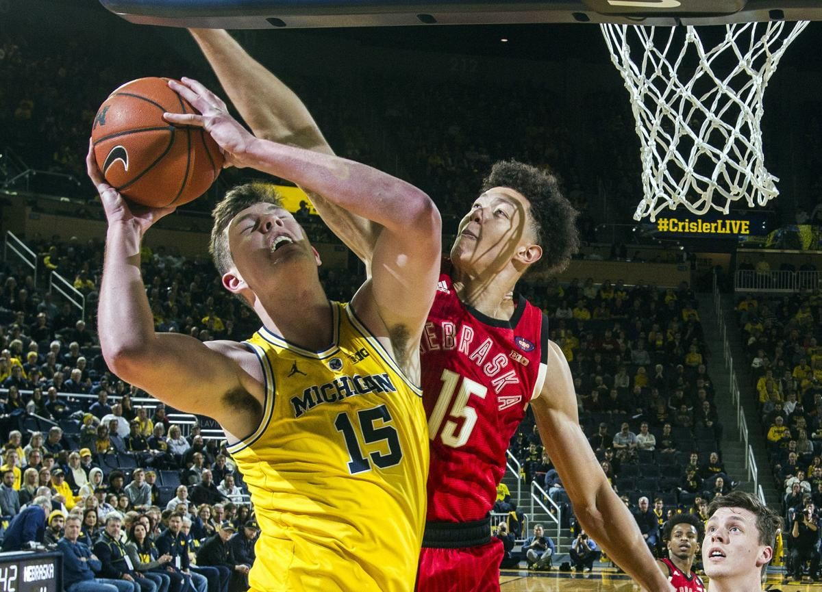 bf8c015f954 Photos: Husker men take on No. 9 Michigan in Ann Arbor on Thursday ...