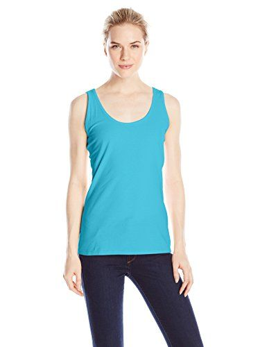 Hanes Women's Scoop Neck Tank Top >>> Read more reviews of the item by visiting the link on the image.