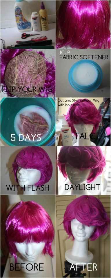 How To Remove That Shine From Your Synthetic Wig Using 2 Odd