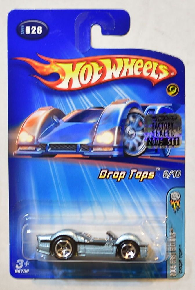 Hot Wheels 2005 First Editions Drop Top Tops 8 10 028 Factory Sealed Hotwheels