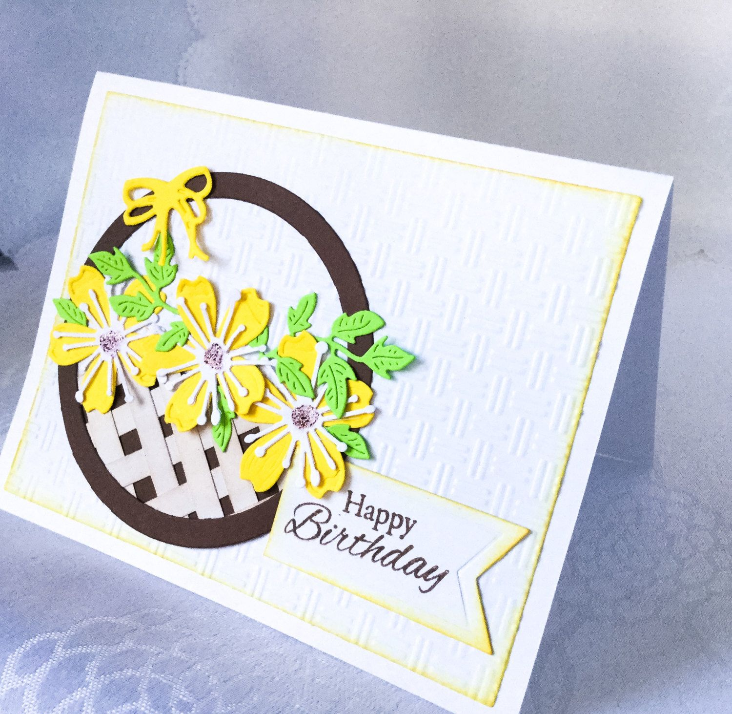 Set of handmade flower cards colorful birthday cards flowers in