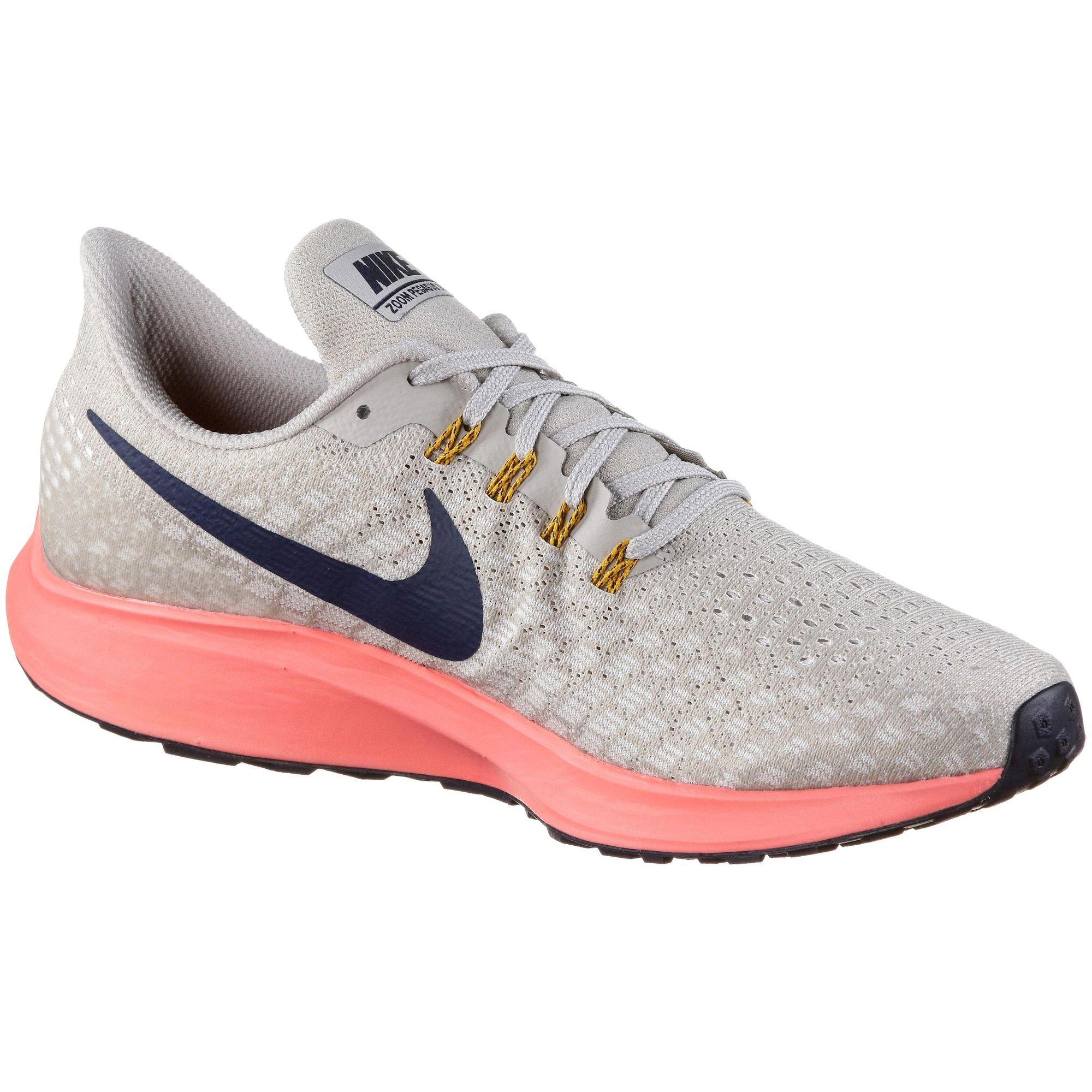 Nike Laufschuhe Air Zoom Pegasus 35 Herren Grau Neonpink Grosse 42 Laufschuhe Nike Schuhe