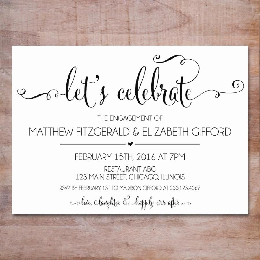 Engagement Party Invitation Template Free Best Of Engagement Party Unique Engagement Party Invitations Free Engagement Party Invitations Party Invite Template