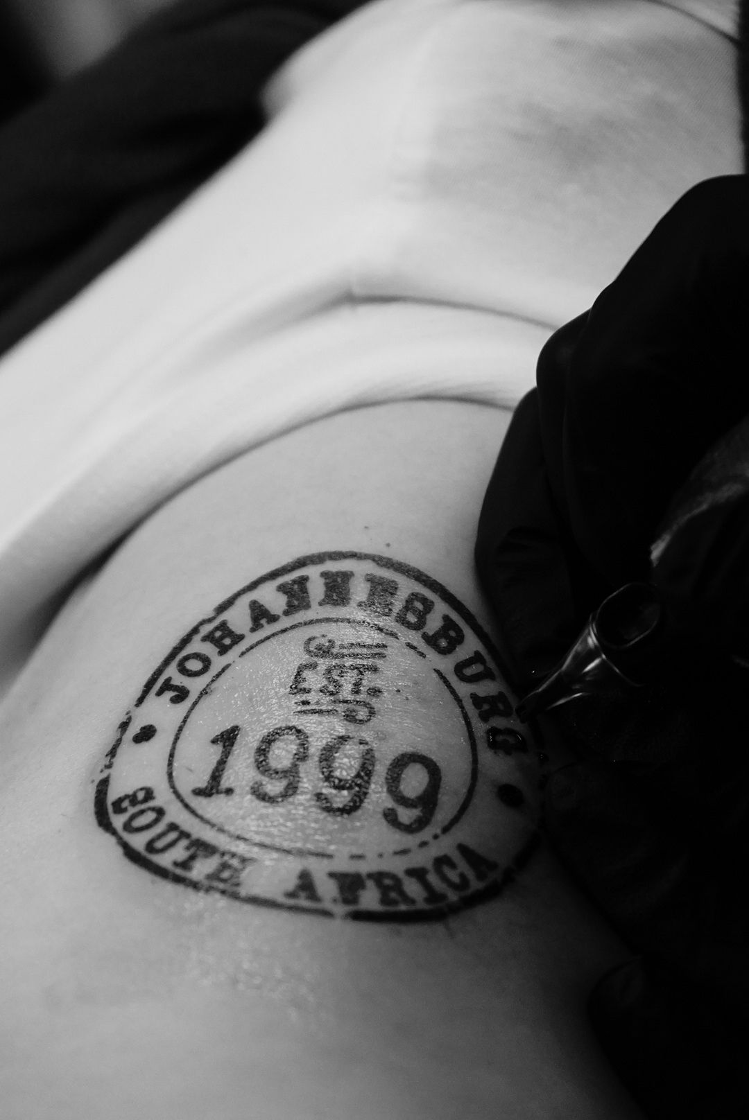 1999 johannesburg south africa birth year stamp tattoo