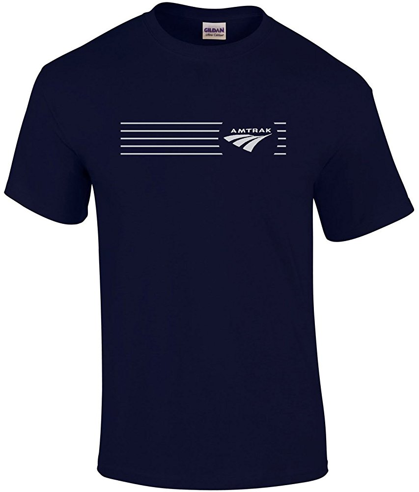 Daylight Sales Amtrak Travelmark Railroad Logo Tee Shirts