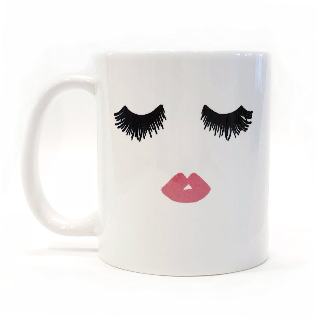Eye Lash Coffee Mug