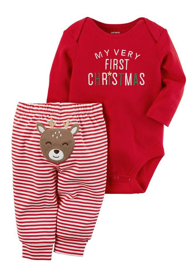 a60c2690c How to Make Baby's First Christmas Extra-Festive | Baby | Baby girl ...