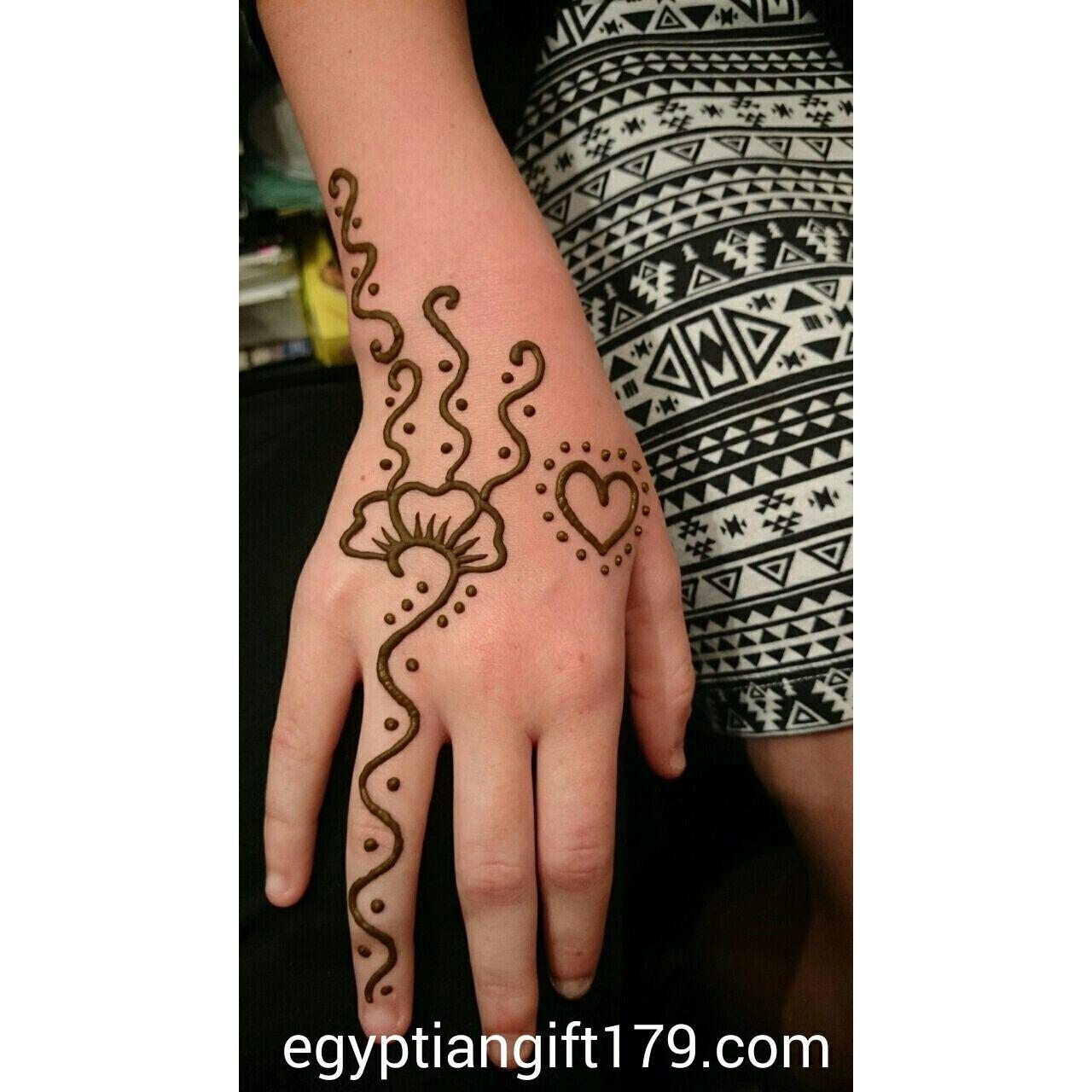Egyptian Gift Corner Tattoo near me, Henna tattoo, Henna
