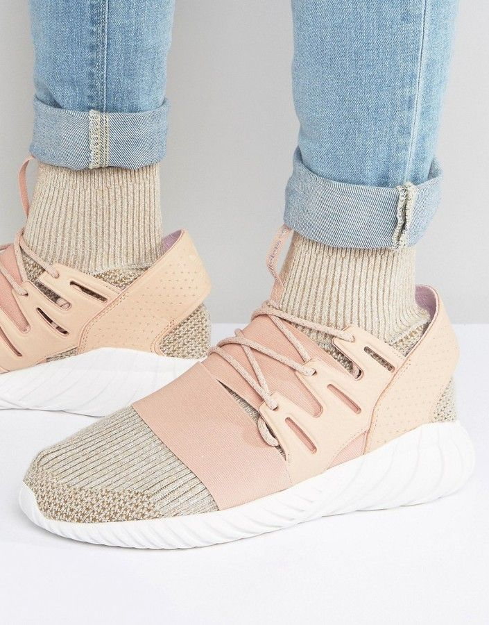 Adidas Tubular Doom Pk Sneakers In Beige Bb2390 Sneakers Fashion