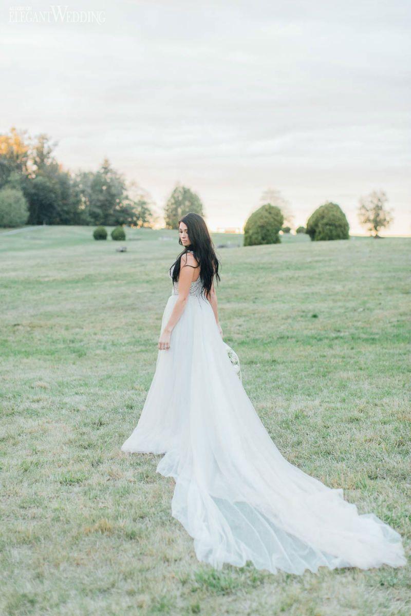 Flowy galia lahav wedding dress organic wedding inspiration in