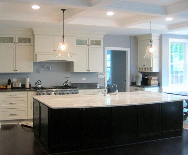 Kitchen White Cabinets Black Island 48 Designs Luxury On Kitchen .