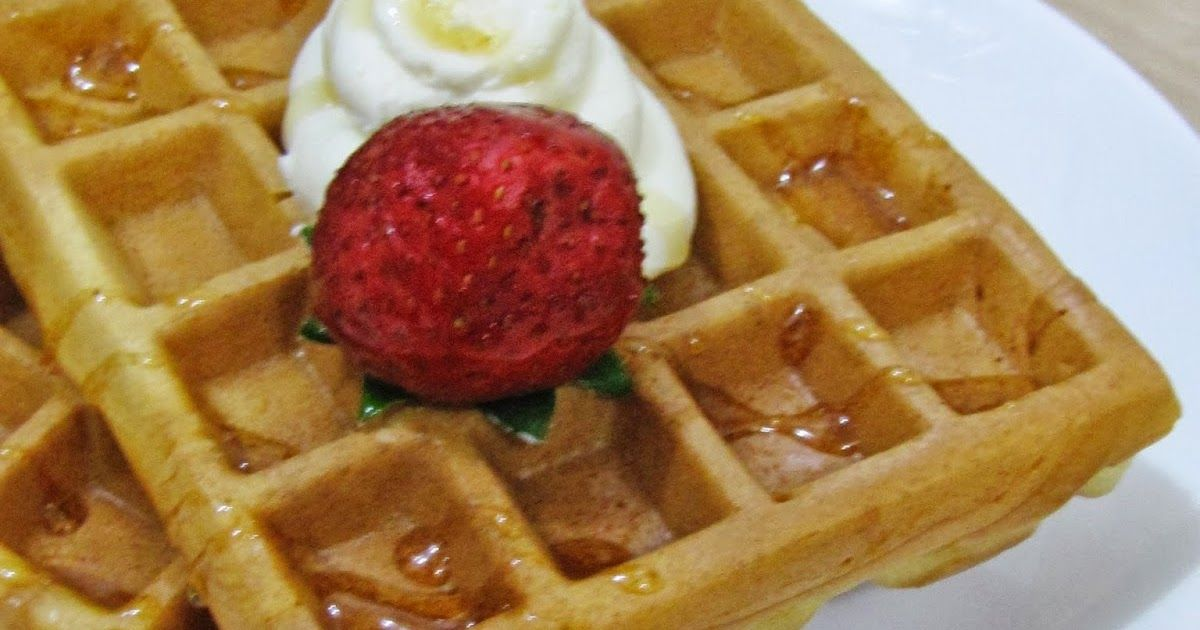 Bismillah Waffle Ini Sudah Lama Saya Buat Tapi Kelupaan Untuk Memasukkan Resepnya Ke Dalam Blog Saya Mumpung Ada Kesempa Makanan Resep Makanan Dan Minuman