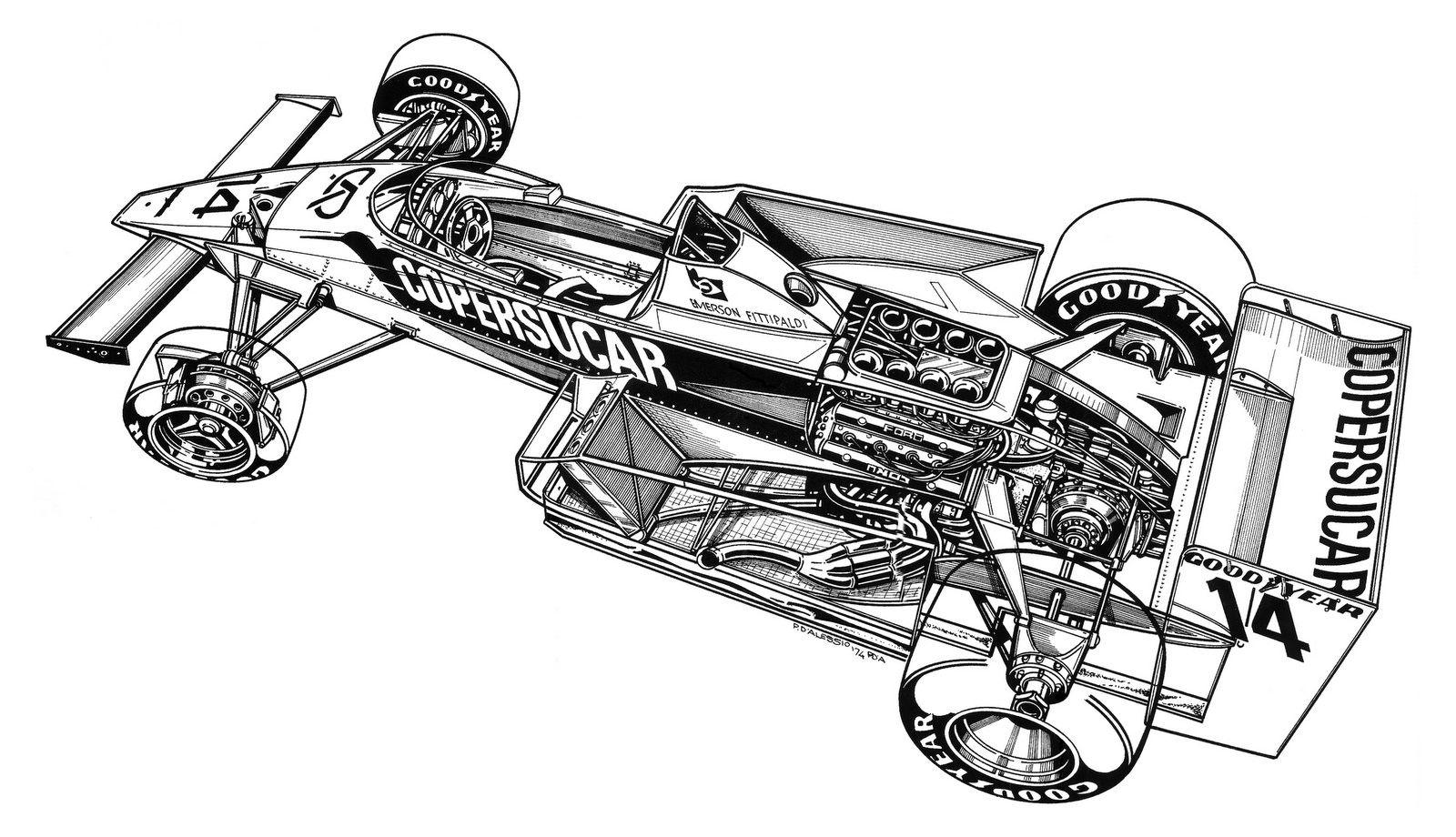 V8 Engine Cutaway Diagram