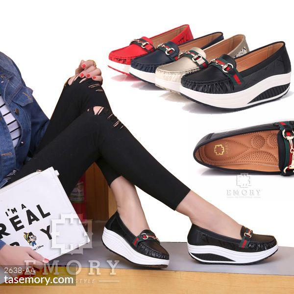 77f5f17cd Sepatu EMORY Ananthara Flat 2638-AA | Emory Shoes | Flats, Black ...