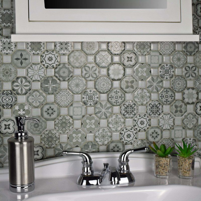 Bathroom Tile Black 1 Hex With Warm Gray Grout Tile Bathroom Bathroom Floor Tiles Black Tile Bathrooms