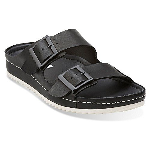 d0542b388 Clarks Netrix Rose Womens Black Leather Sandal 10MEDIUM    See this great  product.(This is an Amazon affiliate link)